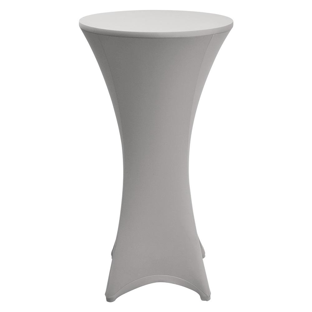 stehtischhusse stretch husse f r bistrotisch stehtisch 60 70 80 stehtischhussen ebay. Black Bedroom Furniture Sets. Home Design Ideas