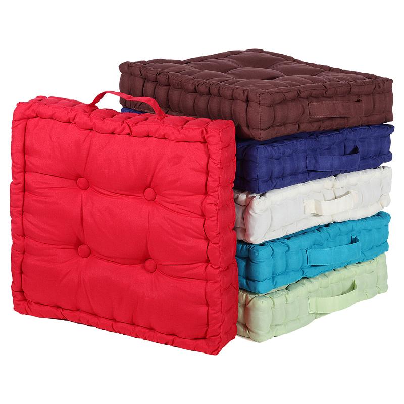kissen stuhlkissen sitzkissen matratzenkissen bodenkissen sitzpolster auflagen ebay. Black Bedroom Furniture Sets. Home Design Ideas