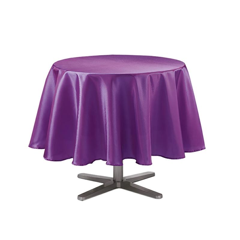 tischdecke 180 cm knitterfrei tischtuch tisch decke uni rund b gelfrei design ebay. Black Bedroom Furniture Sets. Home Design Ideas