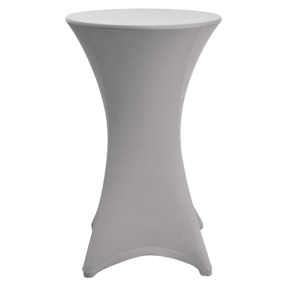 stehtisch mit husse 70 cm stretchhusse tischhusse. Black Bedroom Furniture Sets. Home Design Ideas