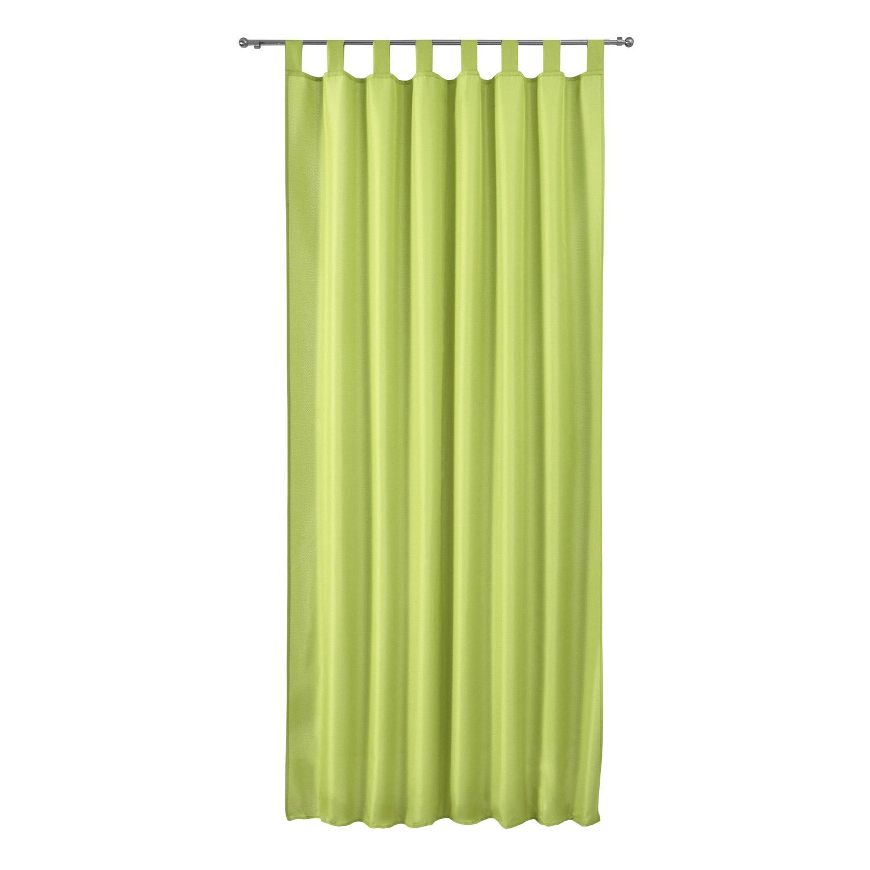vorhang schlaufenschal blickdicht 140x175 schlaufengardine gardine dekoschal uni ebay. Black Bedroom Furniture Sets. Home Design Ideas