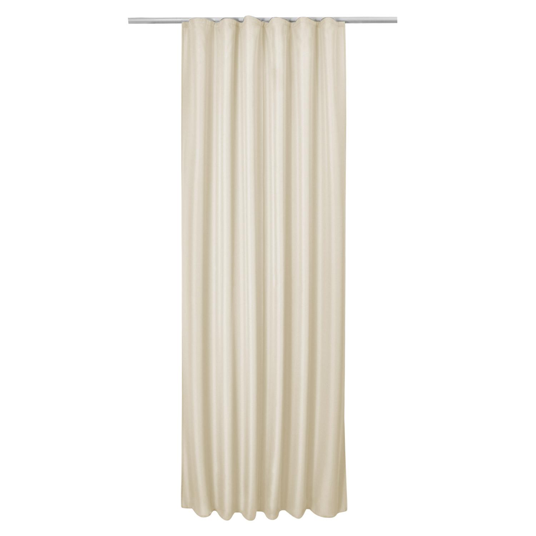 vorhang blickdicht 140x245 cm universalband gardine. Black Bedroom Furniture Sets. Home Design Ideas