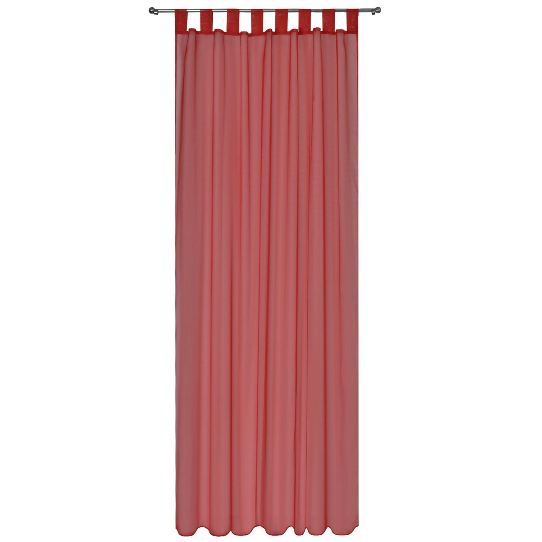 voile gardine 140x245 schlaufenschal transparent dekoschal. Black Bedroom Furniture Sets. Home Design Ideas