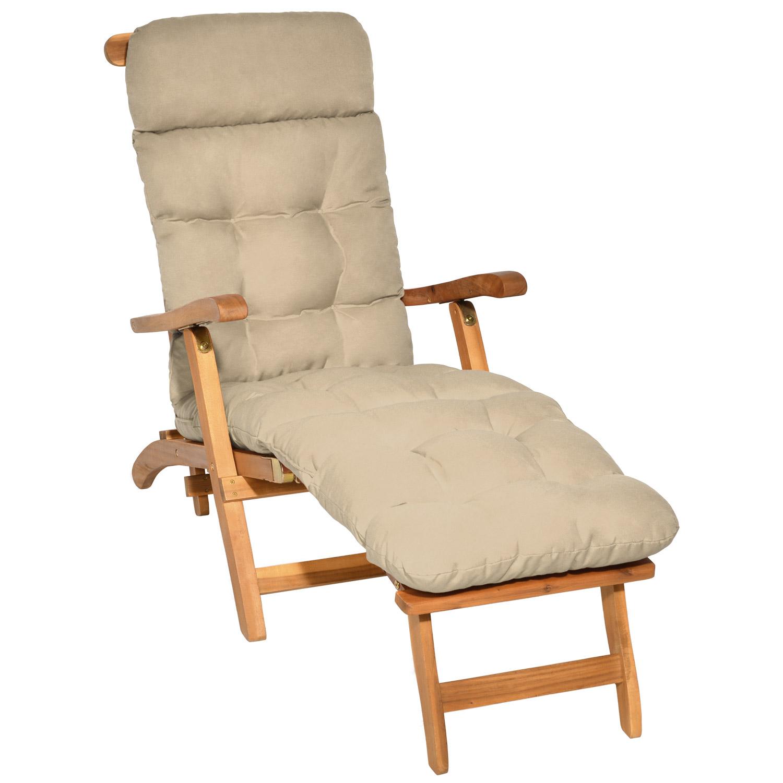 deckchair auflage liegestuhl liegenauflage gartenliege sonnenliege liege polster ebay. Black Bedroom Furniture Sets. Home Design Ideas