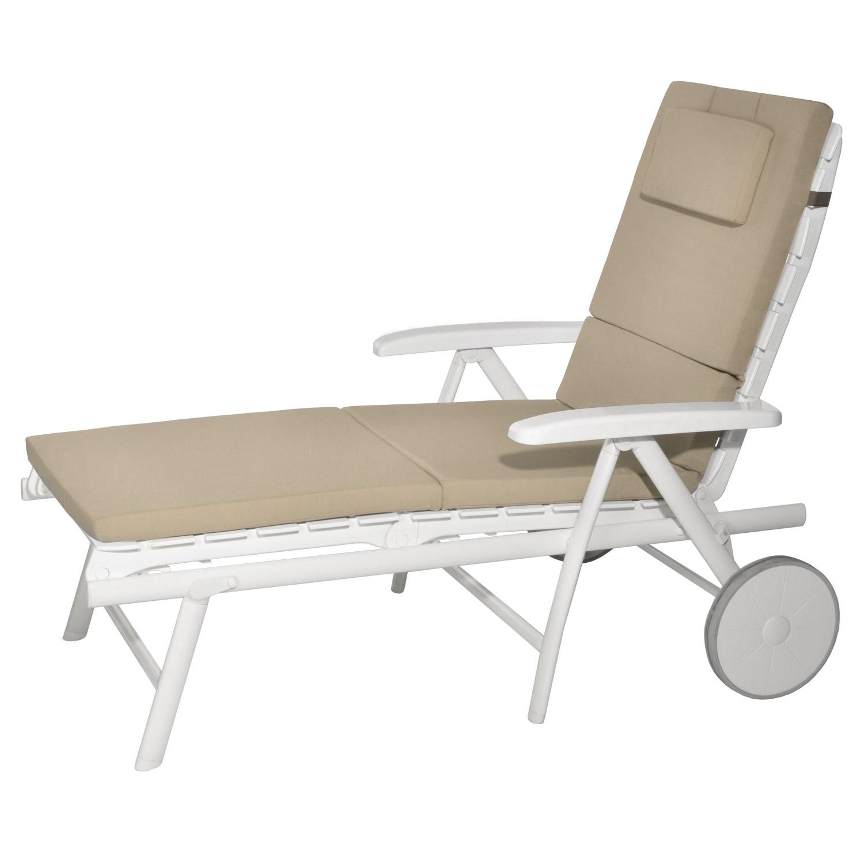 liegenauflage gartenliege auflage liegestuhl liege kissen polster rollliegen. Black Bedroom Furniture Sets. Home Design Ideas