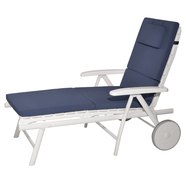 liegenauflage gartenliege auflage liegestuhl liege kissen polster rollliegen ebay. Black Bedroom Furniture Sets. Home Design Ideas