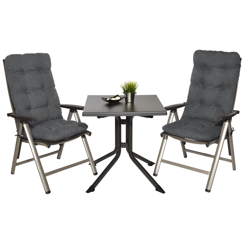 hochlehner auflagen sitzauflagen gartenstuhl sitzkissen polster kissen sessel ebay. Black Bedroom Furniture Sets. Home Design Ideas
