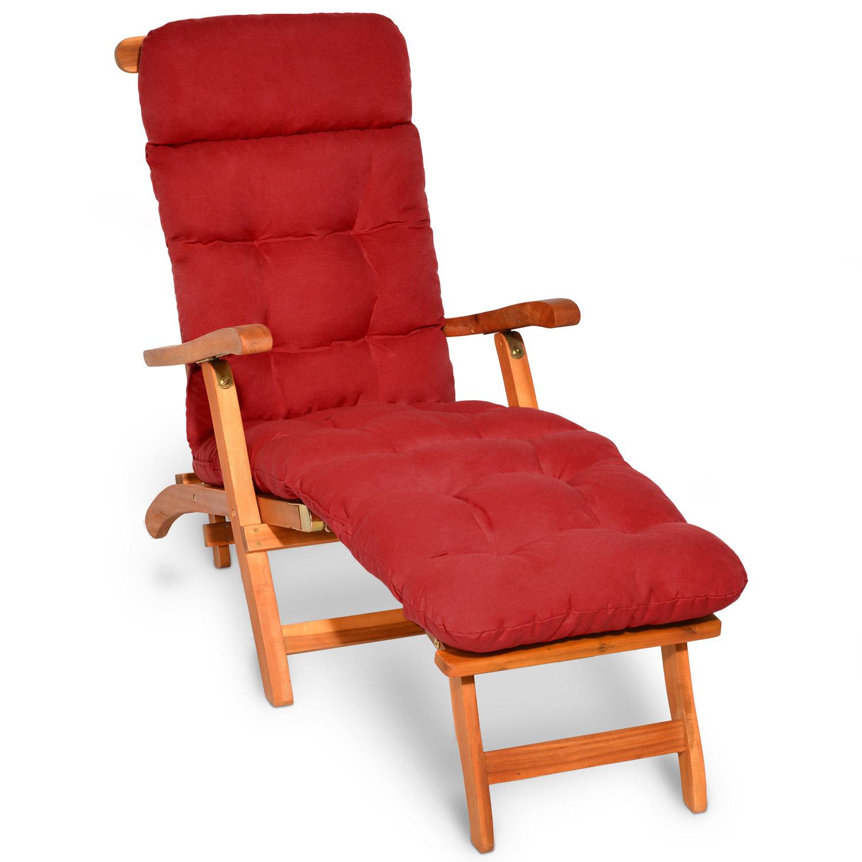 deckchair auflage liegestuhl gartenliege sonnenliege liege polster liegenauflage ebay. Black Bedroom Furniture Sets. Home Design Ideas