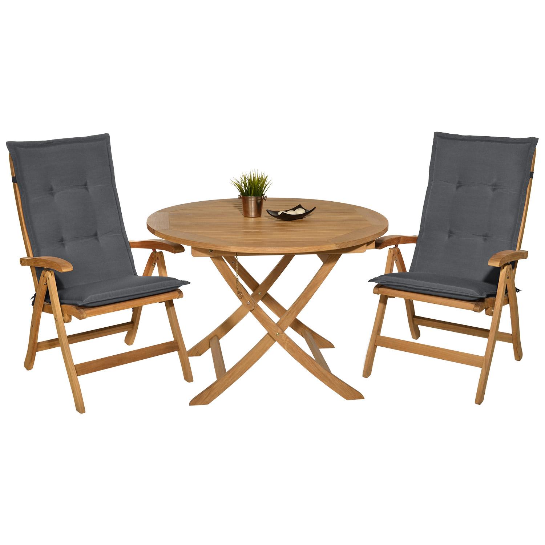 hochlehner auflagen stuhlauflagen gartenstuhl sitzkissen sessel polster kissen ebay. Black Bedroom Furniture Sets. Home Design Ideas