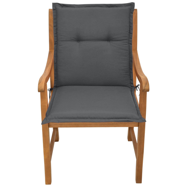 niedriglehner auflagen niederlehner stuhlauflagen stapelstuhl gartenstuhl kissen ebay. Black Bedroom Furniture Sets. Home Design Ideas