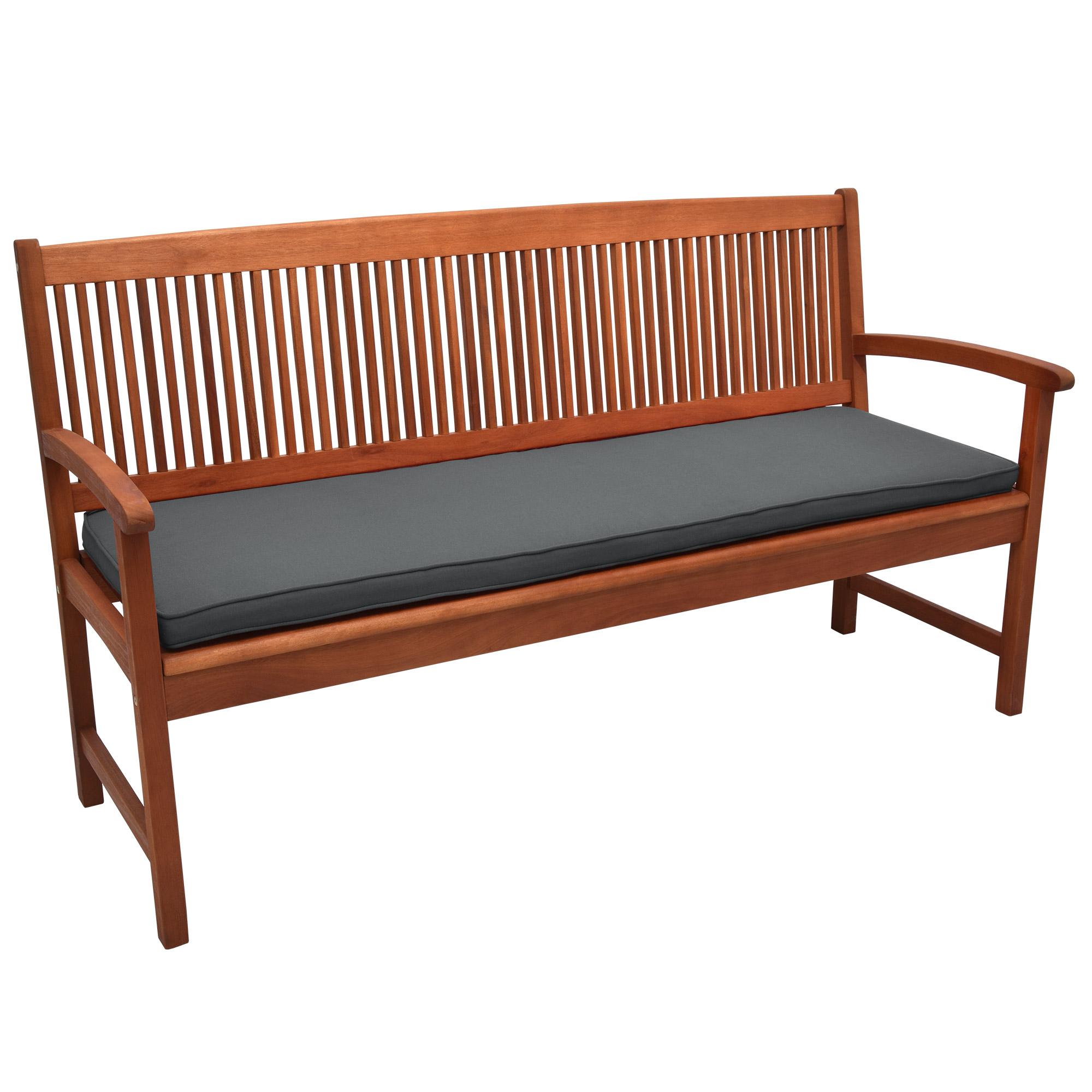 bankkissen bankauflage bankpolster sitzpolster gartenbank auflage polsterauflage ebay. Black Bedroom Furniture Sets. Home Design Ideas